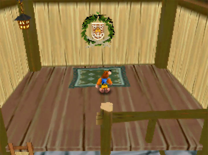 Link's family sword and shield in Banjo Kazooie: The Bear Waker