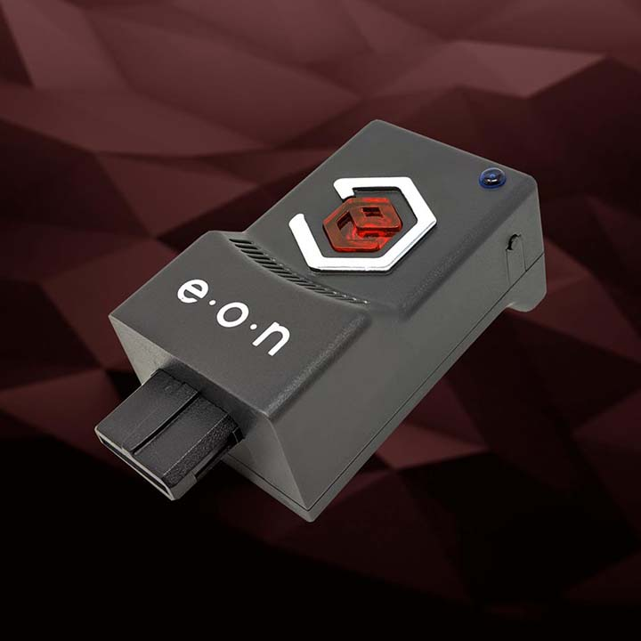 The EON Super 64 HDMI plug-and-play adapter for Nintendo 64