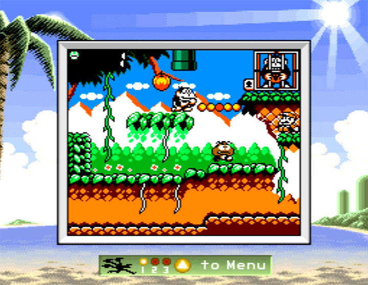Game and Watch Gallery 3, running in colour, on an N64 through the Standalone Stadium Game Boy Emulator.