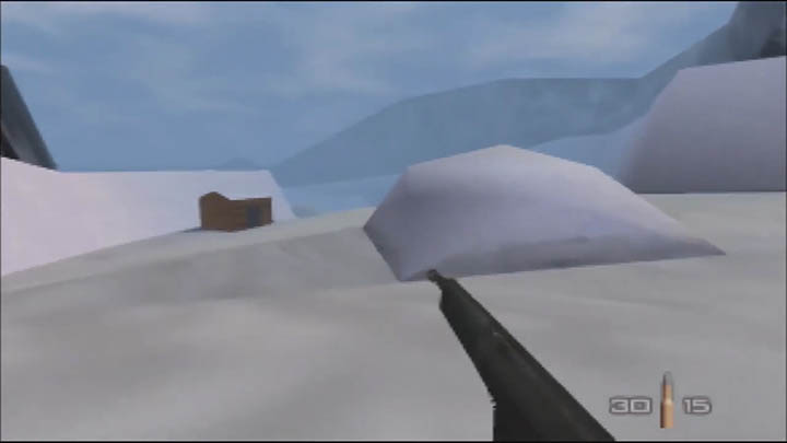 The assault rifle skin that replaces the KF7 Soviet in The Spy Who Loved Me 64 GoldenEye 007 mod.