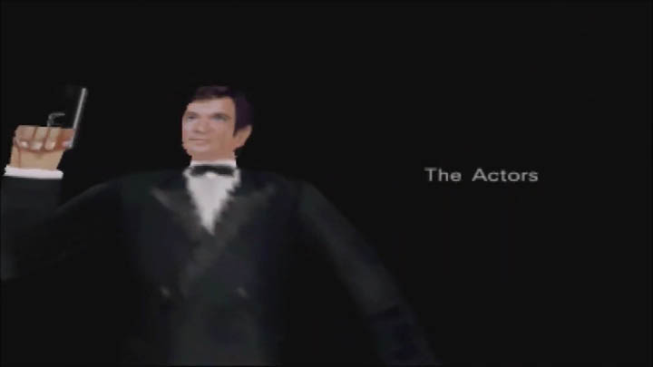Roger Moore's James Bond in 64-bit form in The Spy Who Loved Me 64 GoldenEye 007 mod