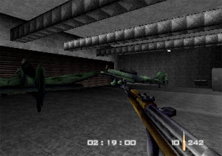 GoldenEye WW2 Hangar is a fun N64 mod with a ton of new features