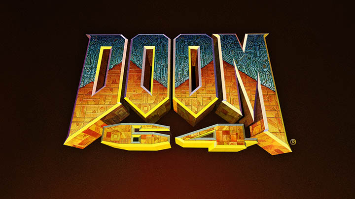 Doom 64 remastered logo
