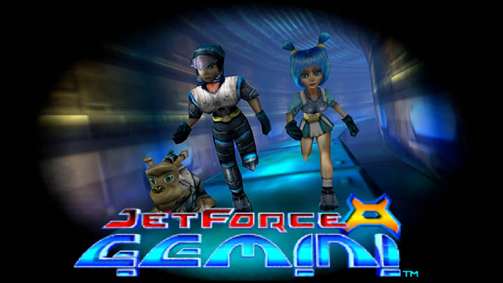 The title screen for Jet Force Gemini on Xbox One.