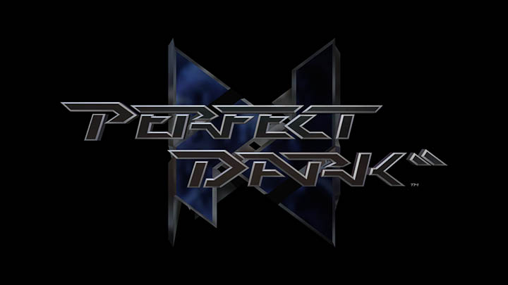 The Perfect Dark logo, as seen in the Xbox One remaster.