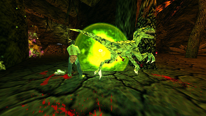 An online multiplayer game of Turok 2: Seeds of Evil remastered.