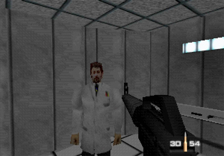Dr Doak makes an appearance in ZKA's GoldenEye Snowy mission.