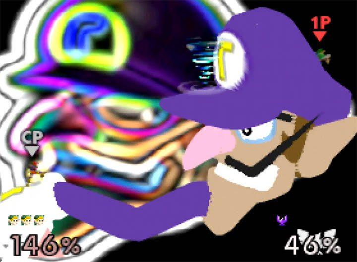 Super Smash Bros. 64 Waluigi stage