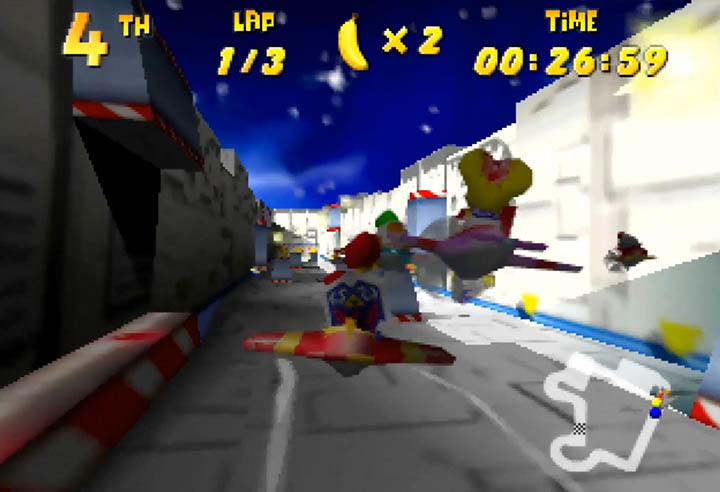 Flying in a plane as Link in the Diddy Kong Racing x Ocarina of Time mod
