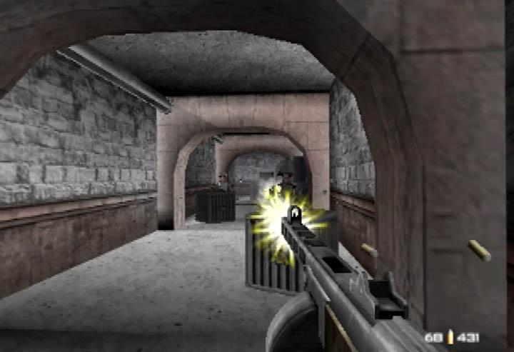 Unleashing the PPSh-41 in GoldenEye 007 on N64 (mod).
