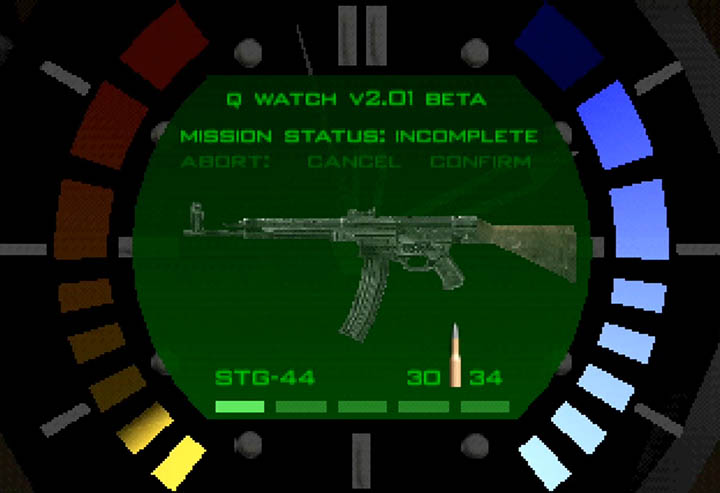 STG-44 rifle added to GoldenEye 007 as part of mod.