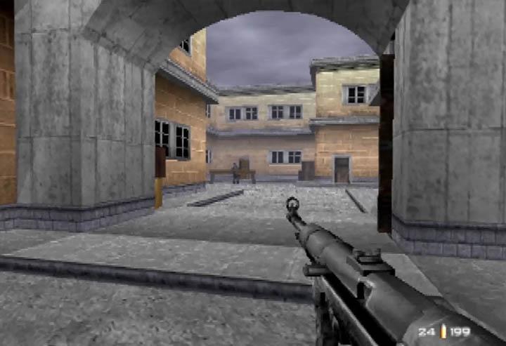 GoldenEye 007 WW2 City mod - hi-res street