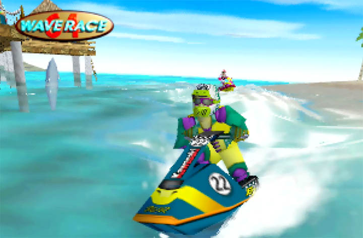 David Mariner, Wave Race 64 character