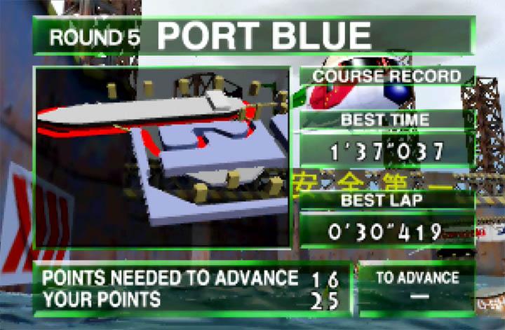 Port Blue course summary
