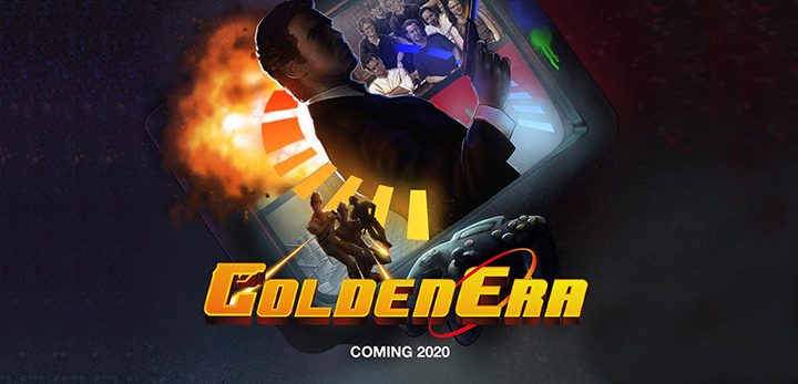 GoldenEra documentary film logo and artwork