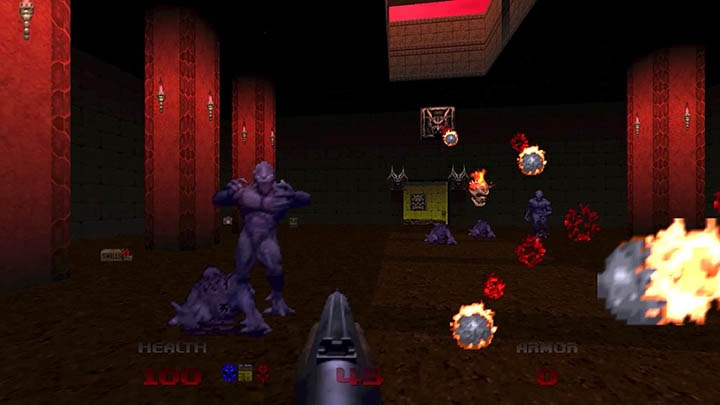 Nightmare imps in Doom 64.