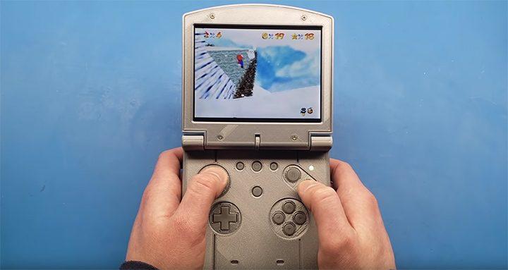 N64 SP portable console mod by GmanModz