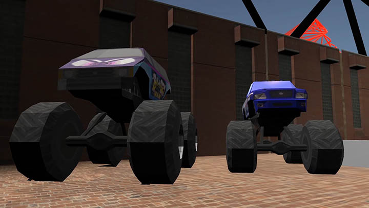 Monster Truck Madness car models