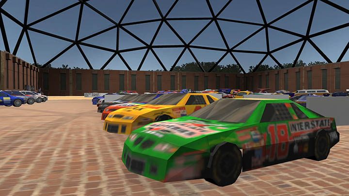 Nascar 2000 vehicles from the N64 game.