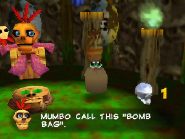 Bomb Bag transformation in Banjo-Kazooie: The Jiggies of Time