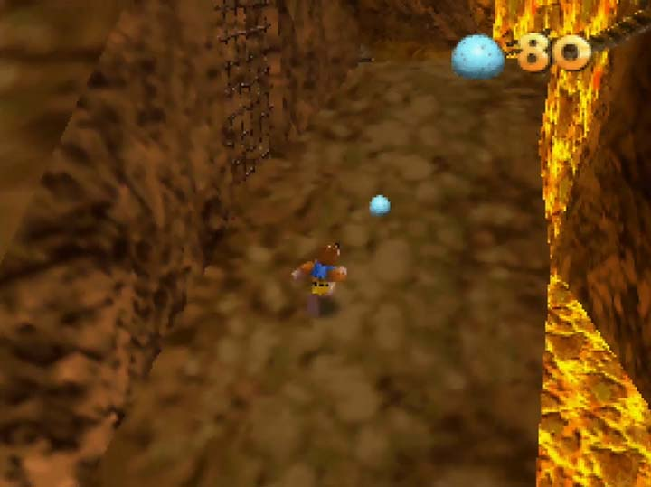 Death Mountain trail, as seen in Banjo-Kazooie: Jiggies of Time.