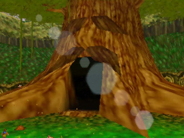 The Great Deku Tree, but as it appears in Banjo-Kazooie.