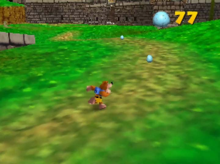 Banjo runs across Hyrule Field in Kurko Mods' superb N64 mod