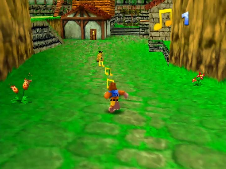 Kakariko Village but in Banjo-Kazooie.