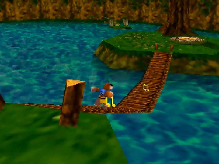 Lake Hylia in Banjo-Kazooie: The Jiggies of Time.