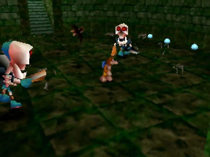Stalfos enemies in Banjo-Kazooie