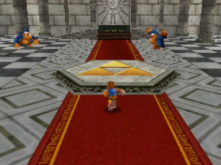 The Temple of Time, as seen in The Legend of Banjo-Kazooie: The Jiggies of Time.