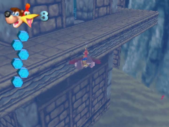 The Water Temple in Banjo-Kazooie: The Jiggies of Time.