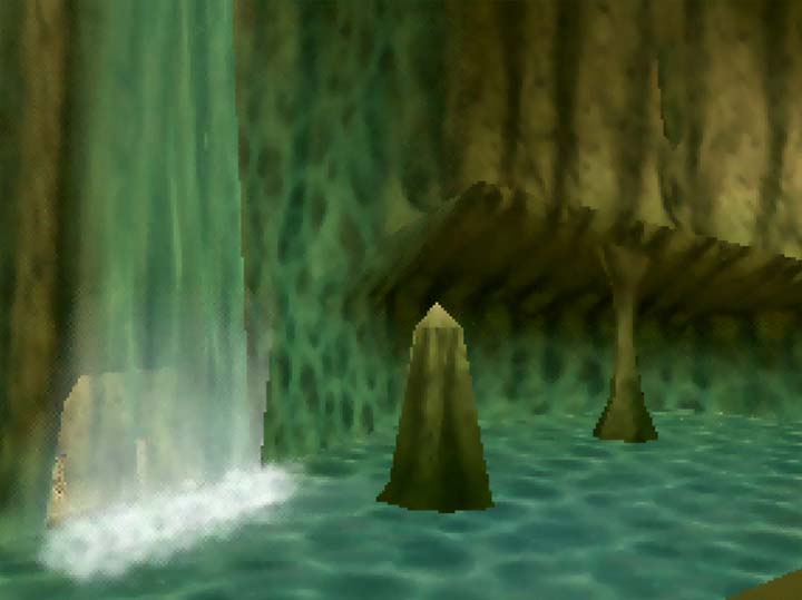 Zora's Domain in The Legend of Banjo: Kazooie: The Jiggies of Time.
