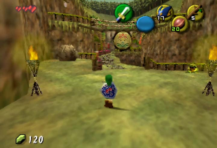 Deku Road fromThe Legend of Zelda: The Missing Link mod for N64.