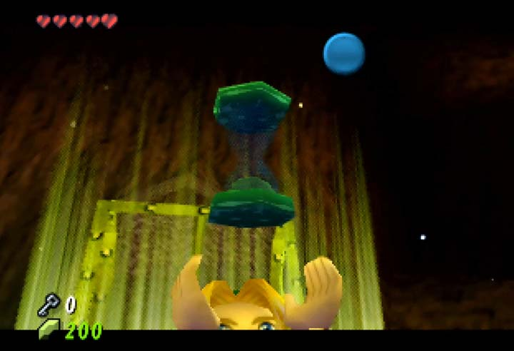 Magic hourglass item in The Legend of Zelda: The Missing Link