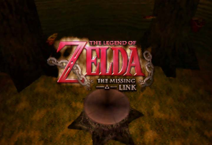 The Legend of Zelda: The Missing Link title screen