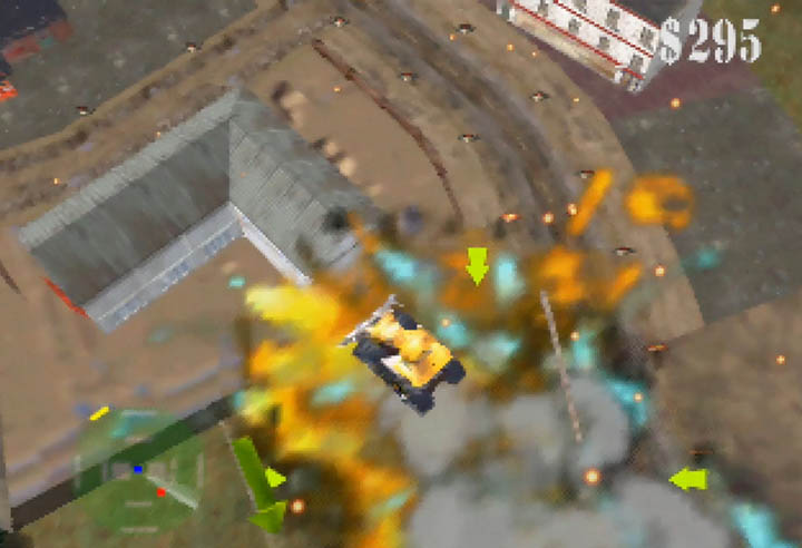 Blast Corps -- one of the most creative N64 games despite its destructive gameplay.