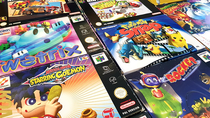 The most creative N64 games -- box art collage