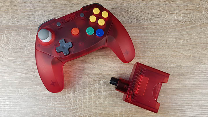 Brawler 64 wireless controller and dongle