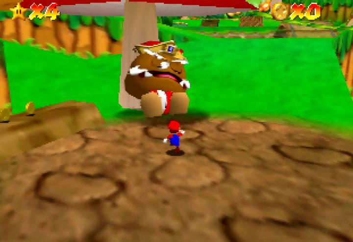 King Goomba boss from Return to Yoshi's Island 64.