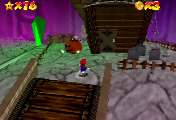 Rainbow Grotto world from Return to Yoshi's Island 64